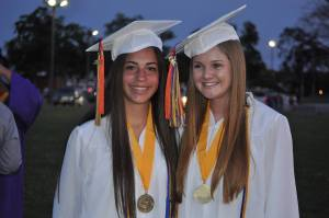 Congratulations ladies!  You will be missed at the office when you depart for your college adventures.