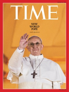 Pope Francis Time Cover
