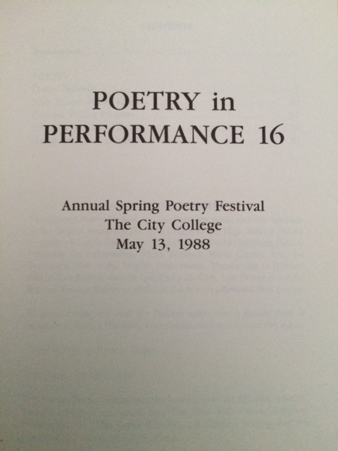 Each of us received a book with all the winning and honorably mentioned poems.  Obviously, i still have my copy.