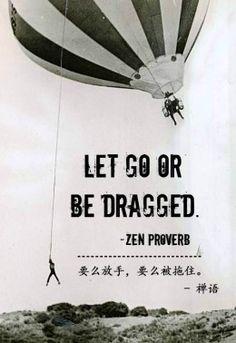 let go balloon