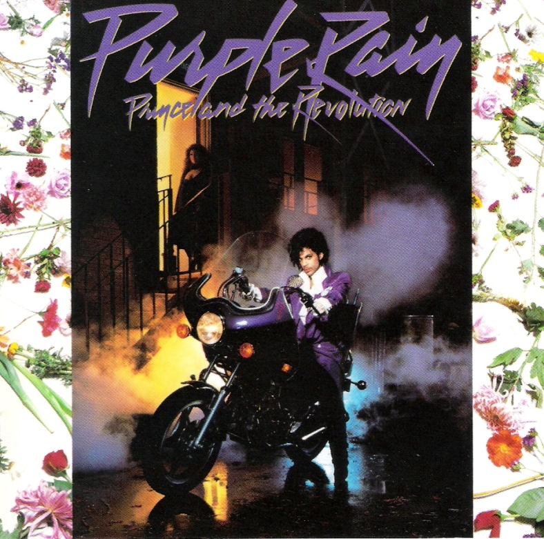 purple rain cover